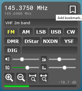 WebSDR User Interface